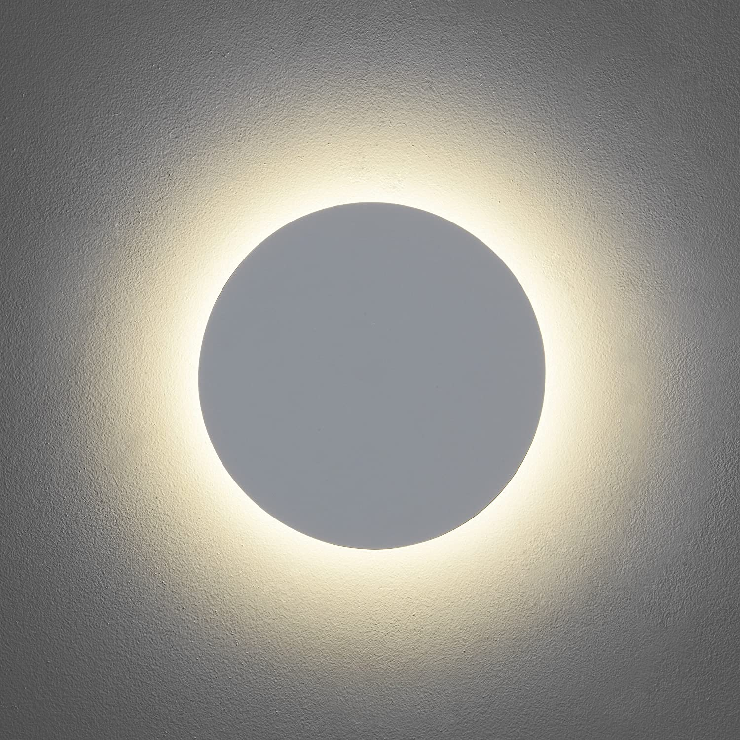 Astro eclipse 250 round led plaster wall light 8w led very warm astro eclipse 250 round led plaster wall light 8w led very warm white 2700k amazon lighting parisarafo Choice Image