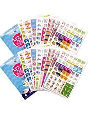Planner Stickers Variety Set (Qty 860+) for Holidays, Birthdays, Home, Wedding, Shower, Work, Appointments, Party, Date Night, Seasons, Workout Tracking & Tasks for Any Calendar, Planner or Organizer