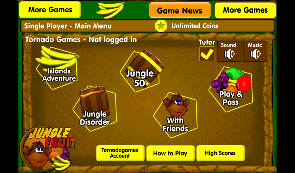 Jungle Fruit: Amazon.es: Appstore para Android