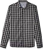 Geoffrey Beene Mens Long Sleeve Button Down Print Shirt Long Sleeve Button Down Shirt