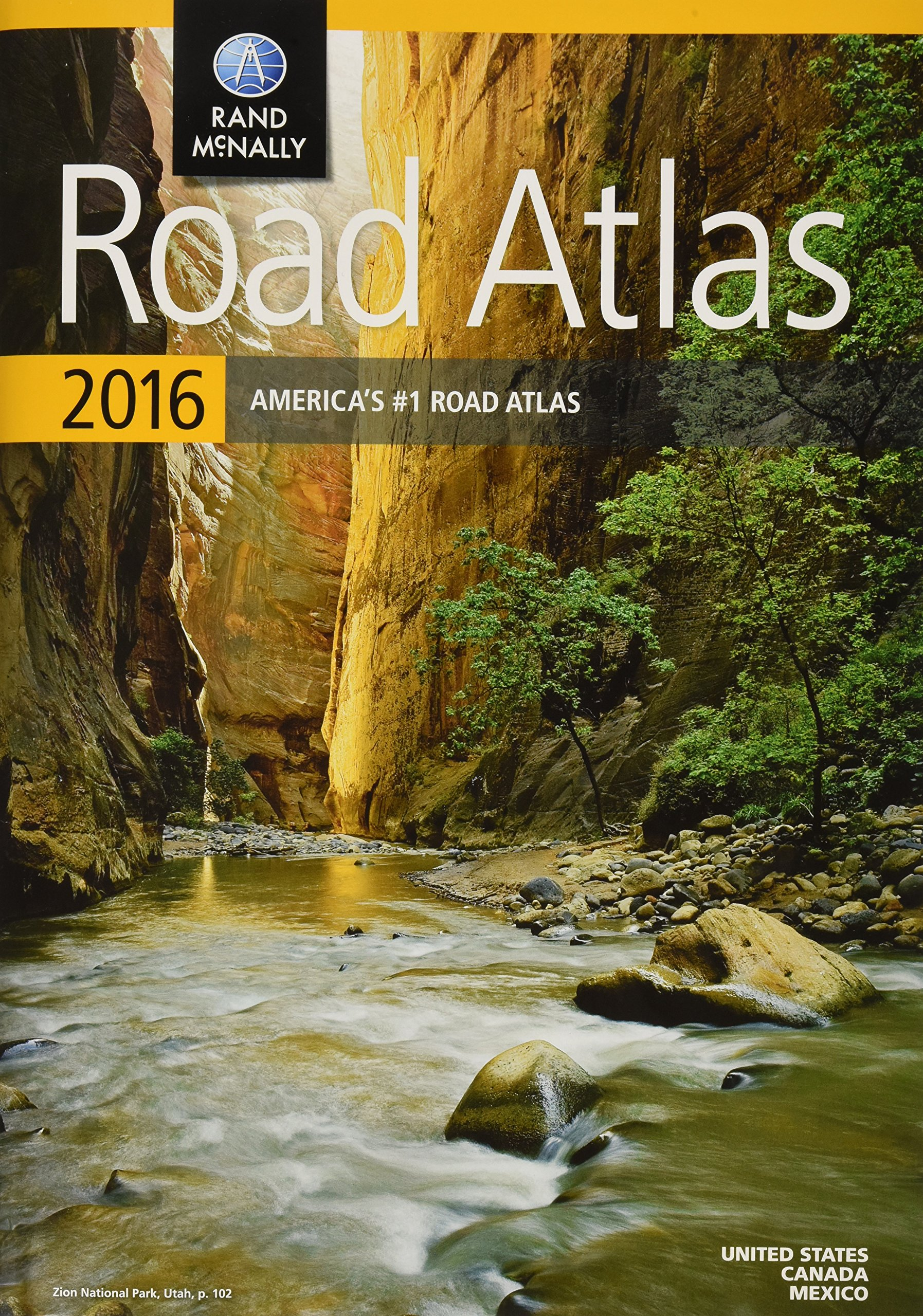 Rand McNally 2016 Road Atlas (Rand McNally Road Atlas): Rand McNally ...