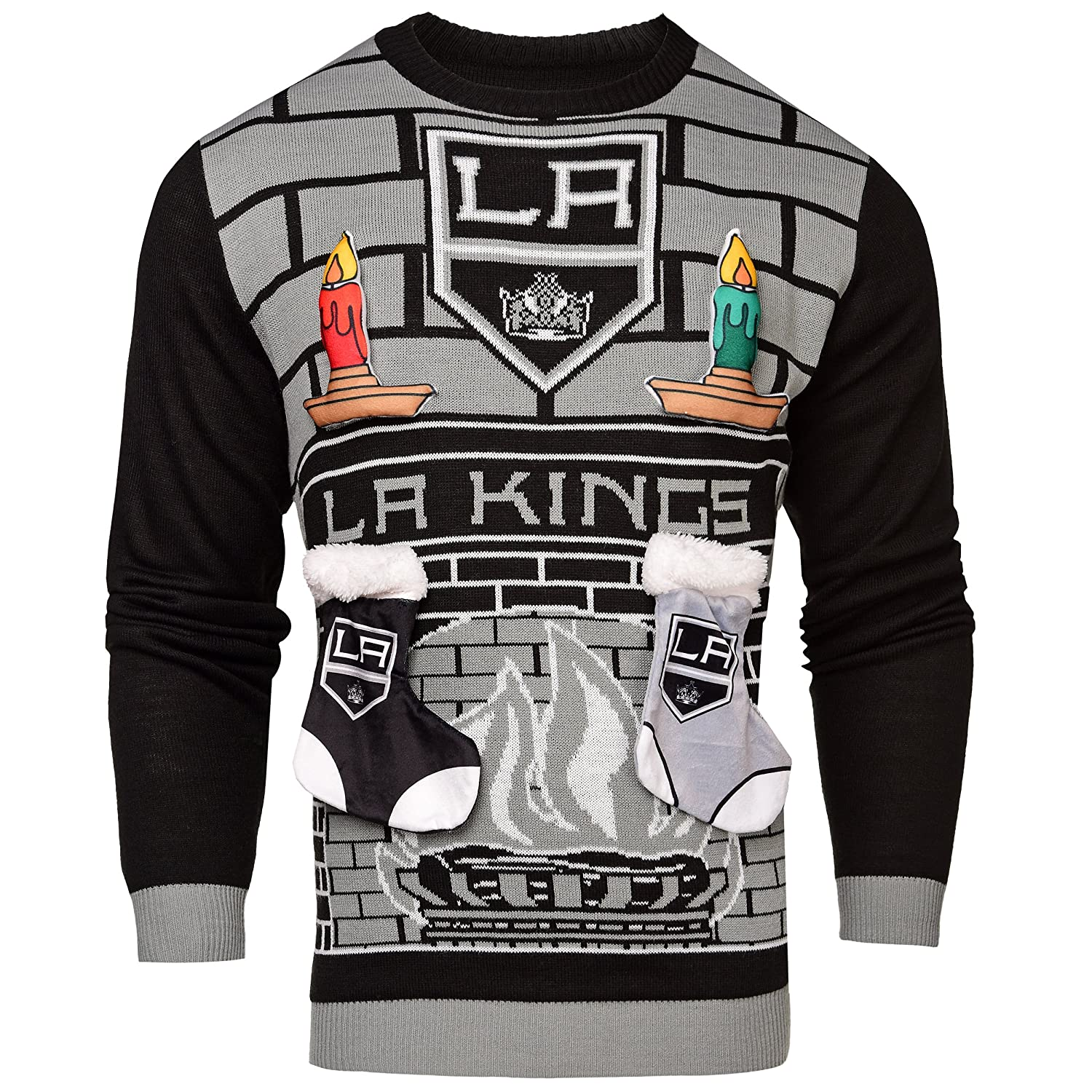 cheap for discount d9f9c 0a6b3 Amazon.com : Los Angeles Kings Ugly 3D Sweater - Mens Small ...