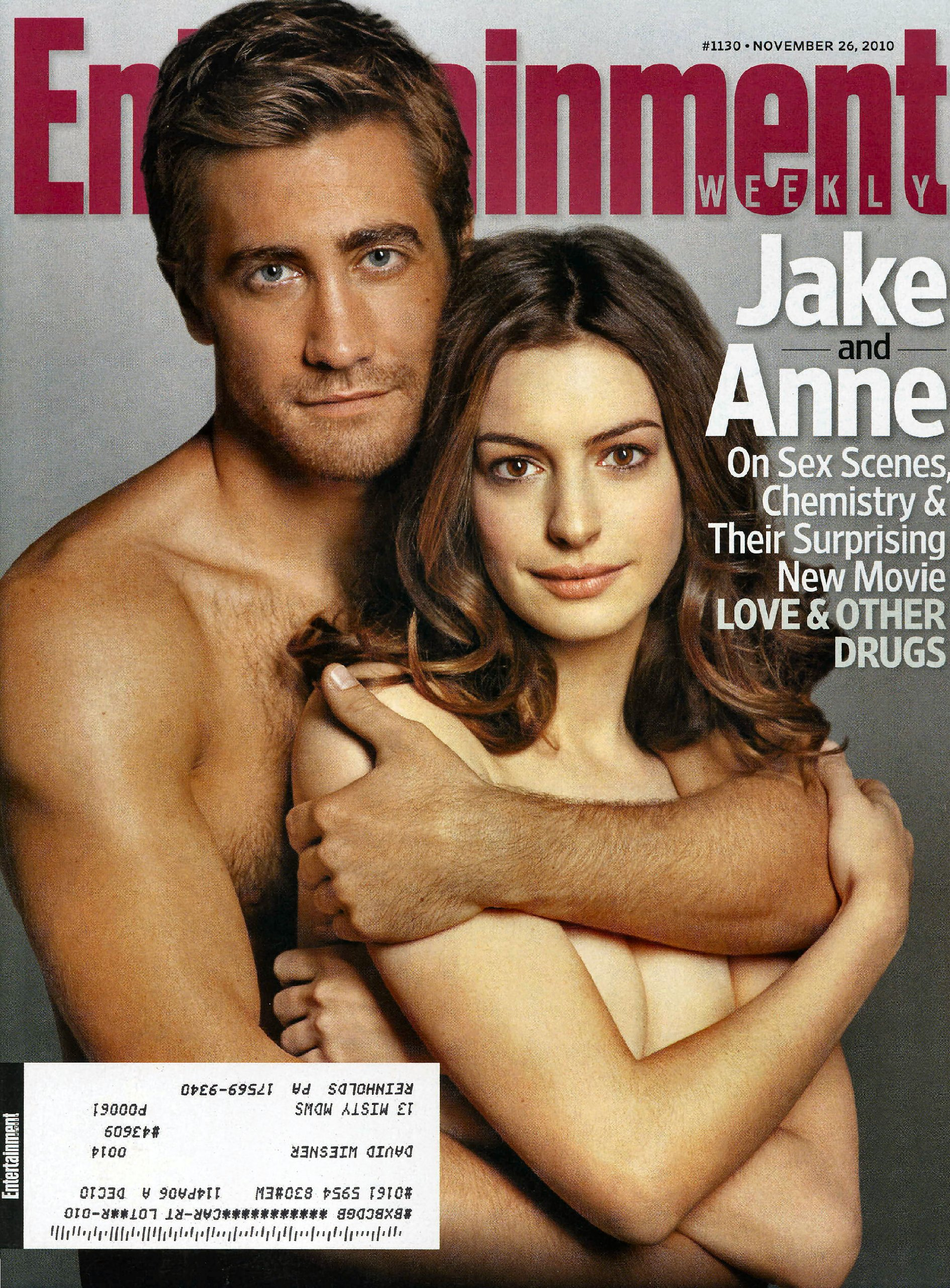 Entertainment Weekly Magazine November 26, 2010 (One of 3 covers for the 11/26/2010 issue featuring Jake Gyllenhaal and Anne Hathaway, #1130) PDF