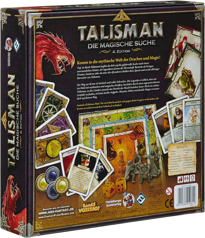Pegasus 51900G Talisman - Juego de Mesa (versión en alemán ...
