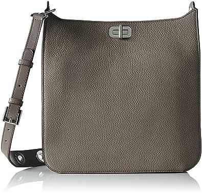 Amazon.com: Michael Michael Kors Sullivan Large Leather Messenger ...