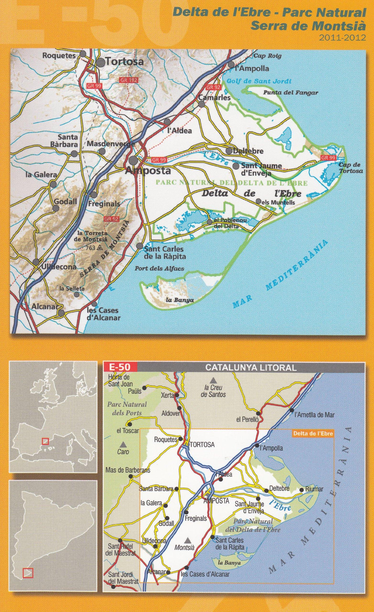 Carte Espagne Delta De Lebre.Amazon Fr Delta De L Ebre Pn Delta De L Ebre 1 50 000