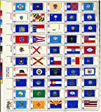 1976 State Flags - Full Sheet of 50 x 13 Cent Stamps - Scott 1633-82