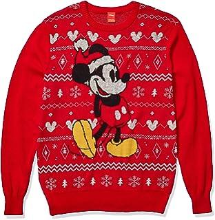 Hanes Mens Ugly Christmas Sweatshirt,Lets Get Lit//Navy,XXX-Large