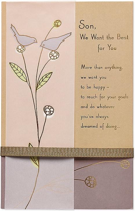Amazon.com: american greetings Birds Tarjeta de cumpleaños ...
