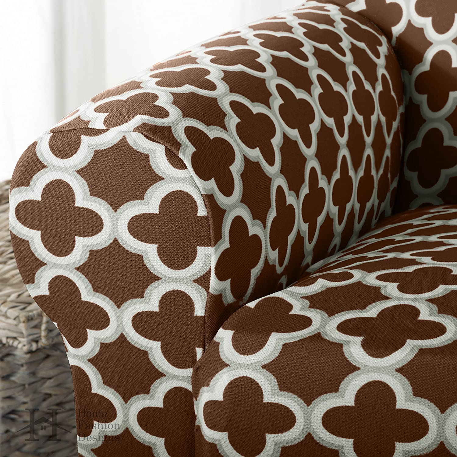 Amazon Brenna Collection Basic Strapless Slipcover Form Fit