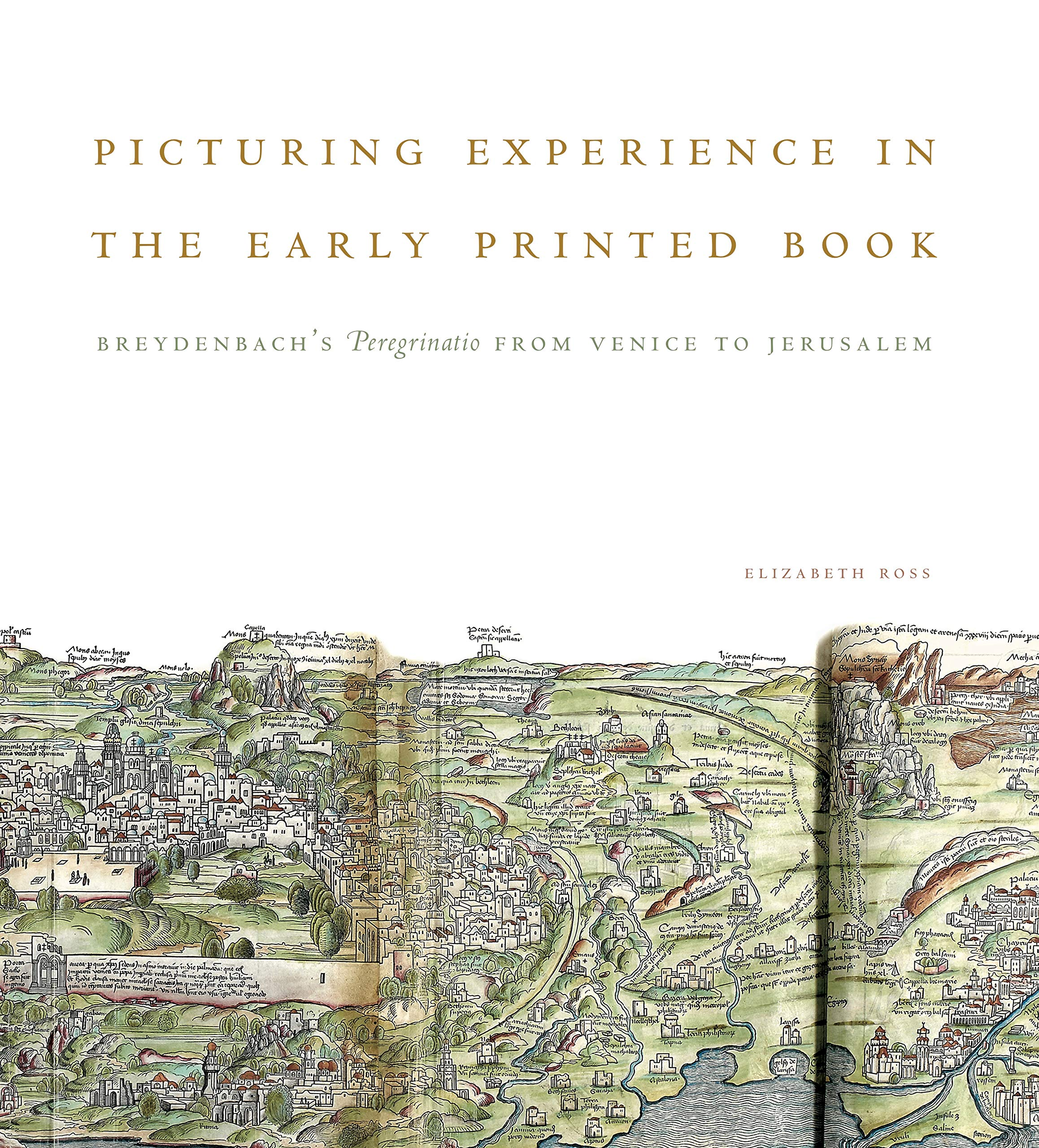 Picturing Experience in the Early Printed Book: Breydenbach's Peregrinatio from Venice to Jerusalem by Penn State University Press