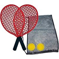 Juego de Tenis de Playa, 2 Raquetas, 2