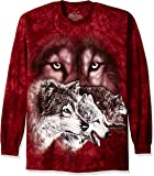 The Mountain Find 9 Wolves USA Long Sleeve T-Shirt