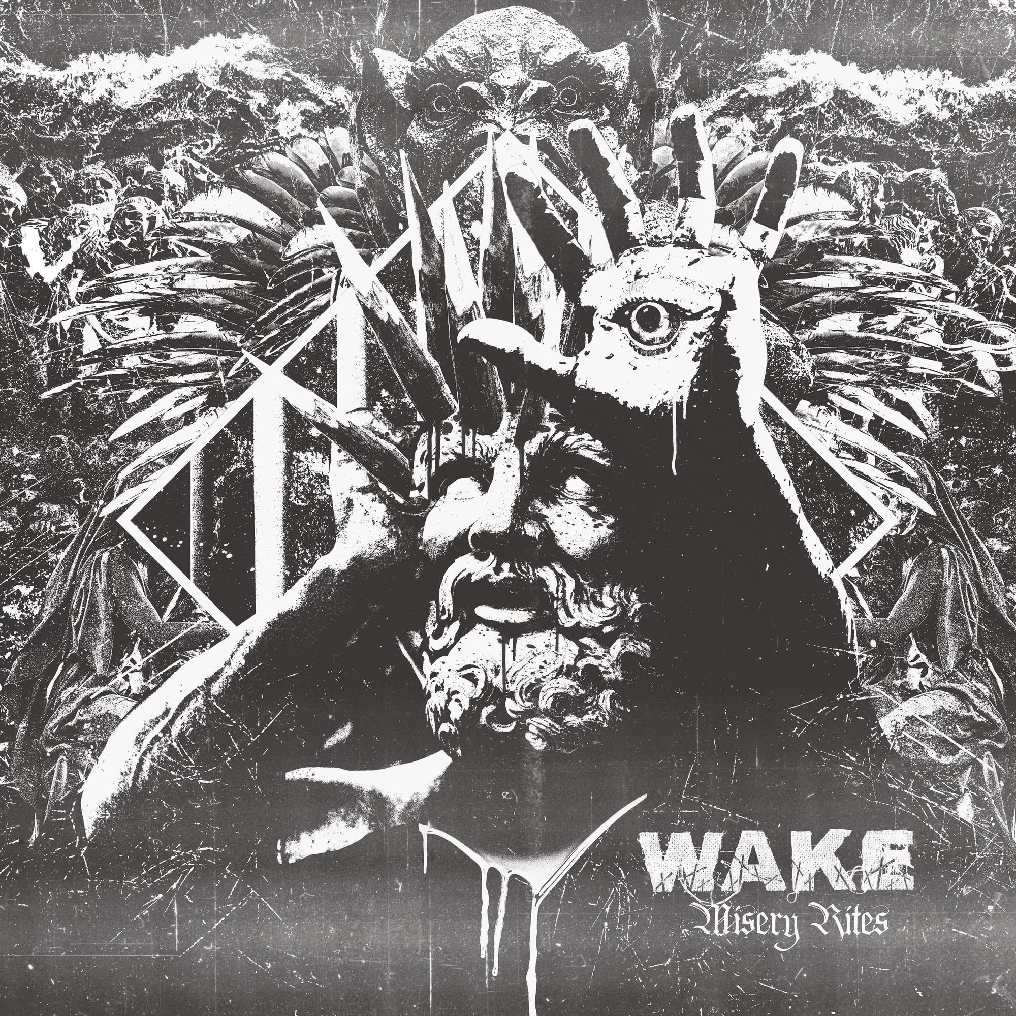Vinilo : Wake - Misery Rites (LP Vinyl)