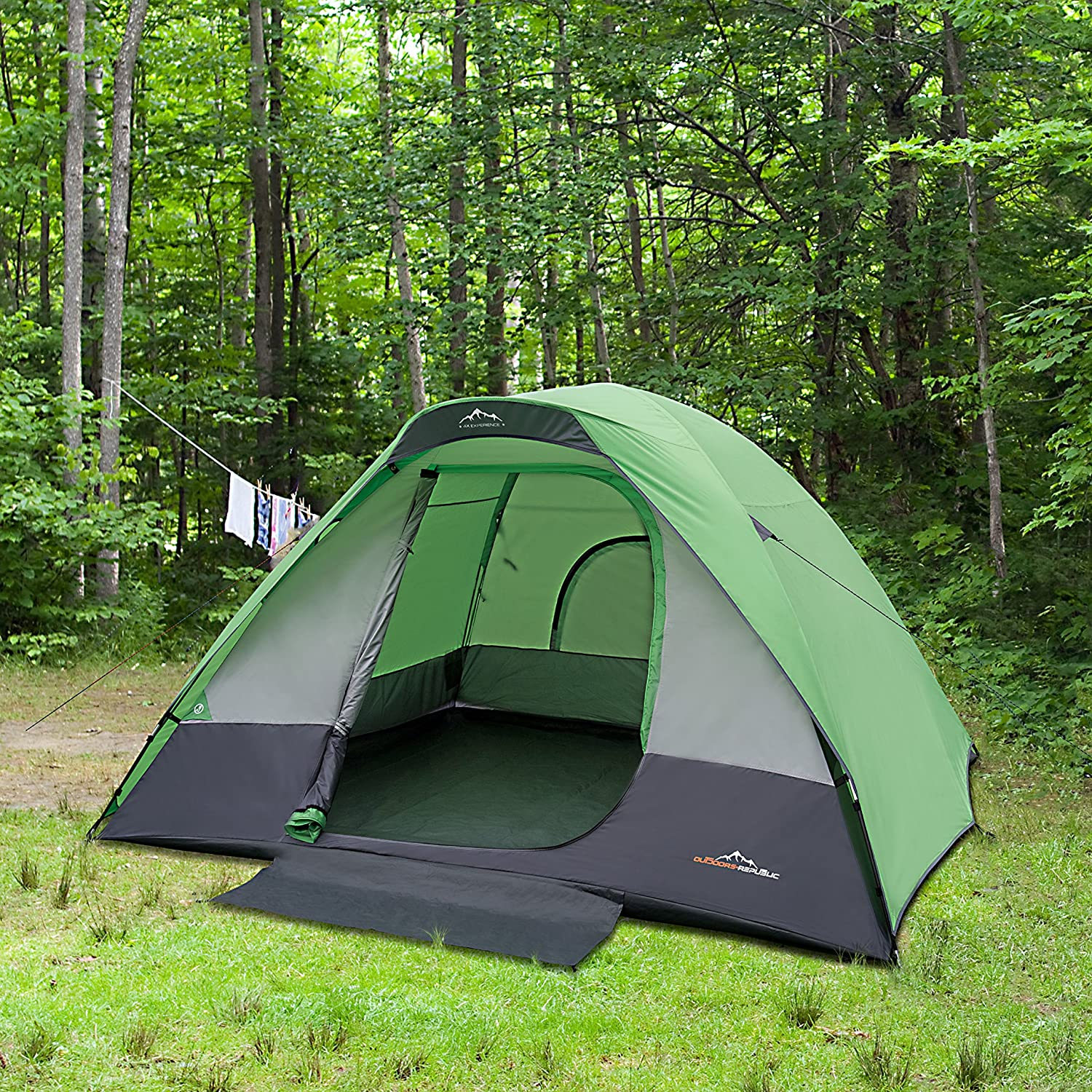& Ventura 7ft X 6ft Cabin Dome Tent: Amazon.ca: Sports u0026 Outdoors
