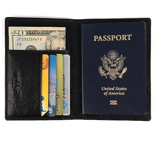 57 opinioni per Custodia passaporto / porta passaporto di Walden Co.   Organizer nero per