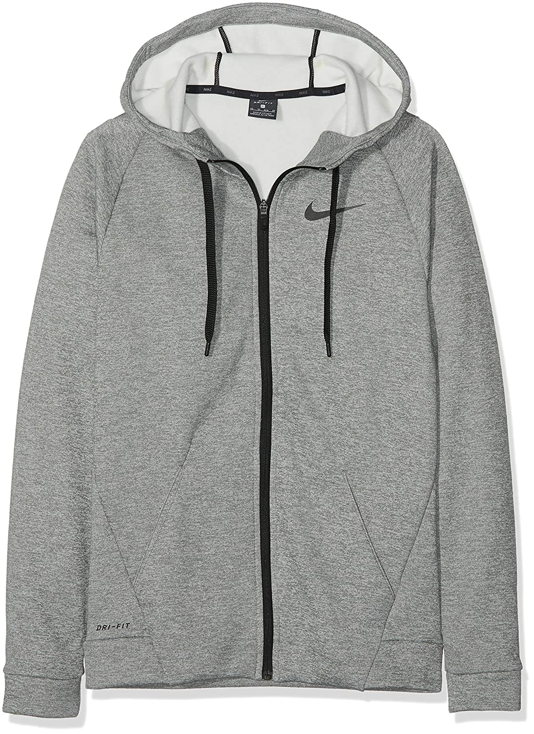 58b3bd2d Amazon.com: Nike Men's Therma Full Zip Training Hoodie: Clothing
