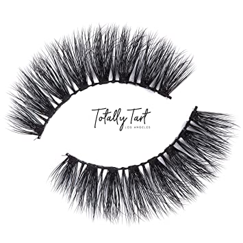 4f5abc1bc4d Totally Tart Premium 3D False Eyelashes - Handmade Reusable Cruelty Free  Faux Mink Lashes, Wispy