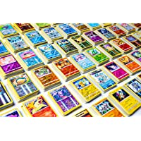 20 Pokemon Cards - No Duplicates - 2 Rare Pokemon Cards + 2 Holo Shiny Pokemon Cards Included - Special Pokemon TCG…