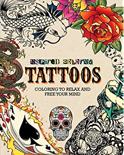Ultimate Tattoo Coloring Book Chartwell Books Patience
