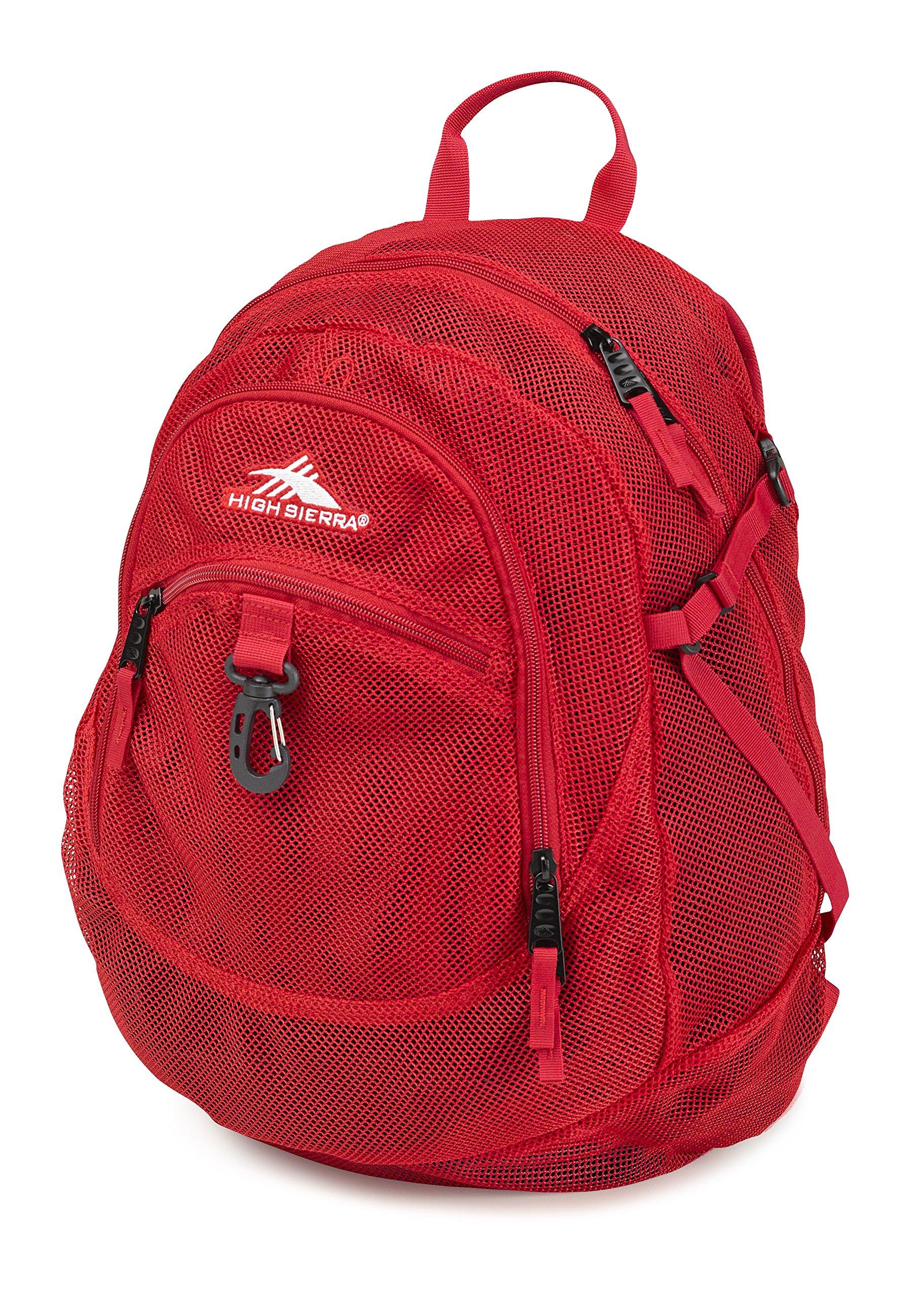High Sierra Airhead Mesh Backpack, Crimson by High Sierra