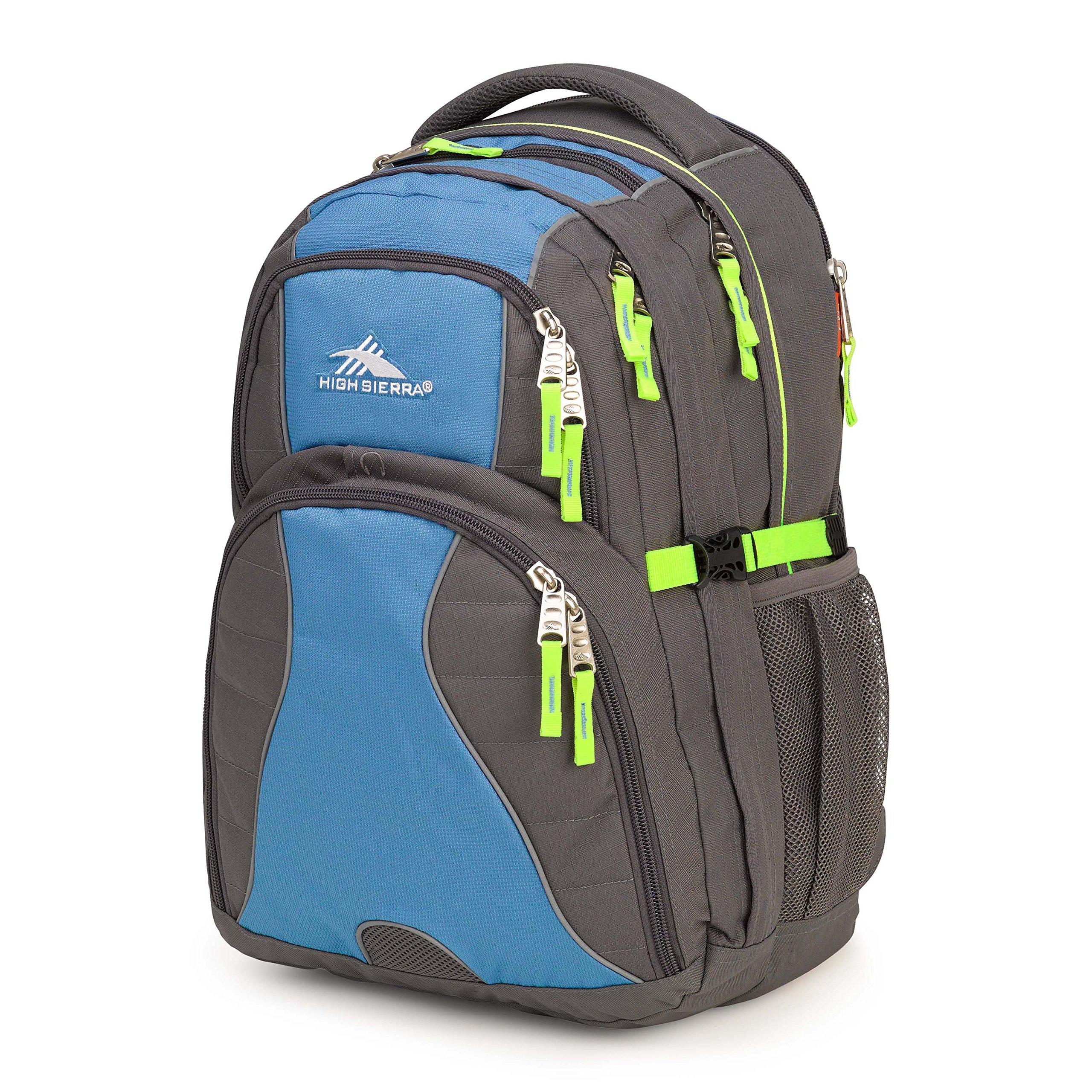 High Sierra Swerve Backpack Slate/Mineral/Zest