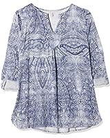 ESPRIT Damen Regular Fit Bluse gemustert