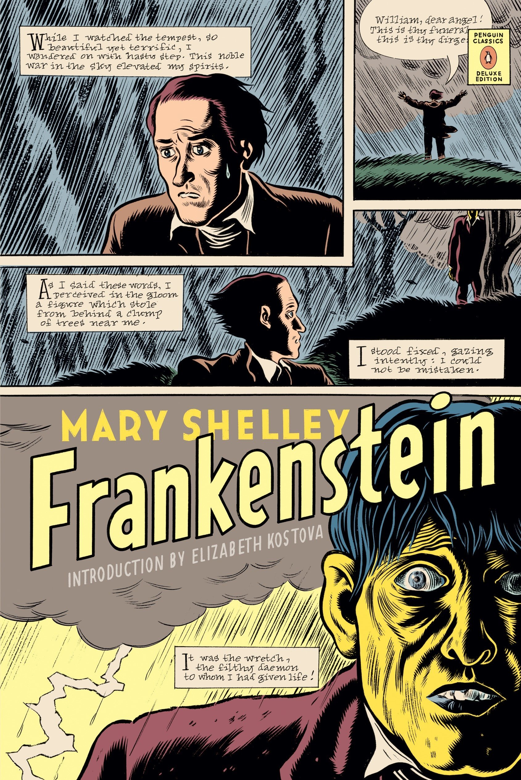 Frankenstein: (Penguin Classics Deluxe Edition): Mary Shelley, Maurice  Hindle, Daniel Clowes, Elizabeth Kostova: 9780143105039: Amazon.com: Books