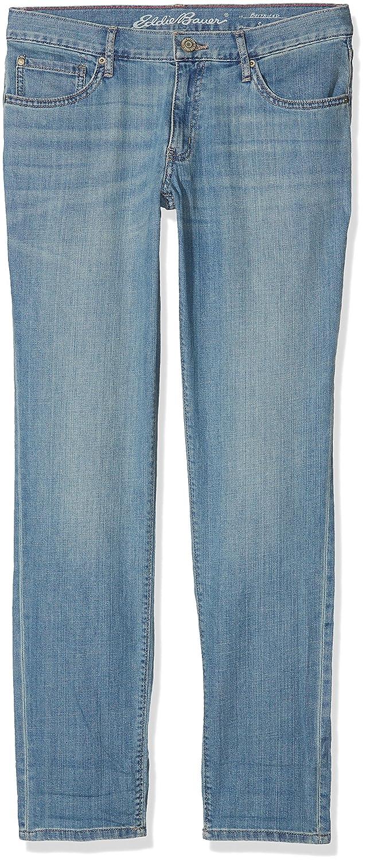 TALLA 35 W/31 L. Eddie Bauer Boyfriend Jeans-Slim Leg-Baumwolljeans Mit Stretchanteil Vaqueros Mujer