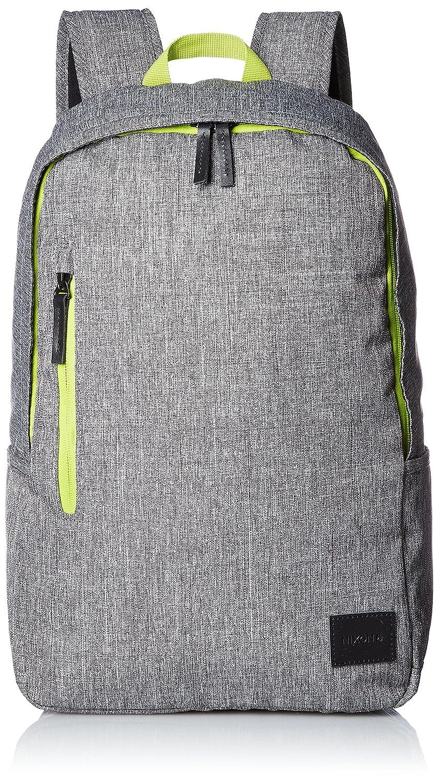 [ニクソン] バックパック Smith Backpack SE NC23971510-00 B01MQLGDGH Heather Gray / Lime Heather Gray / Lime