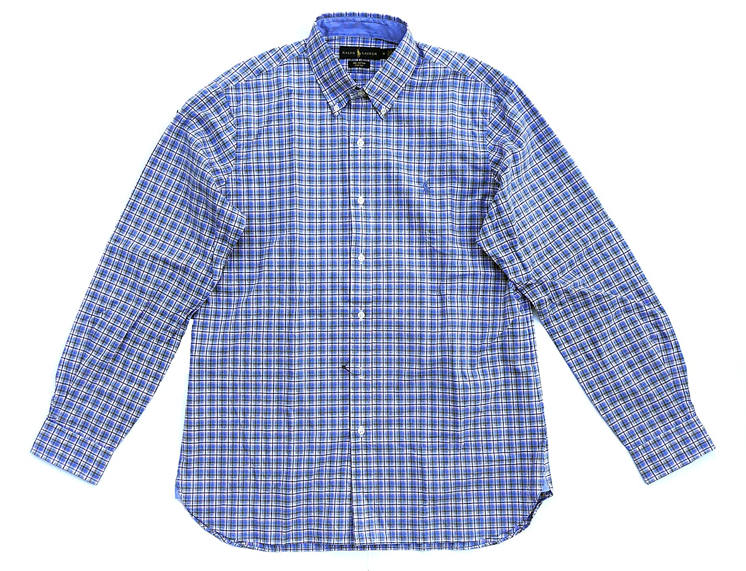d310e2ac Long Sleeve Plaid Poplin Woven Shirt – EDGE Engineering and ...