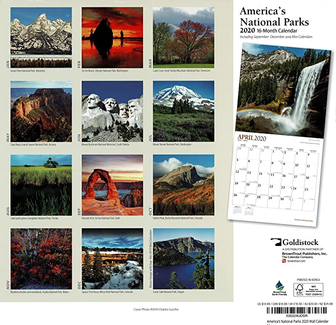 Uml Fall 2020 Calendar Amazon.: 2020 Large Wall Calendar