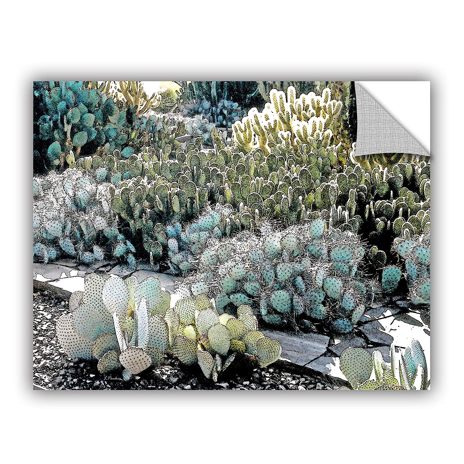 24 by 32 ArtWall Linda Parkers Botanical Garden Appeelz Removable Graphic Wall Art