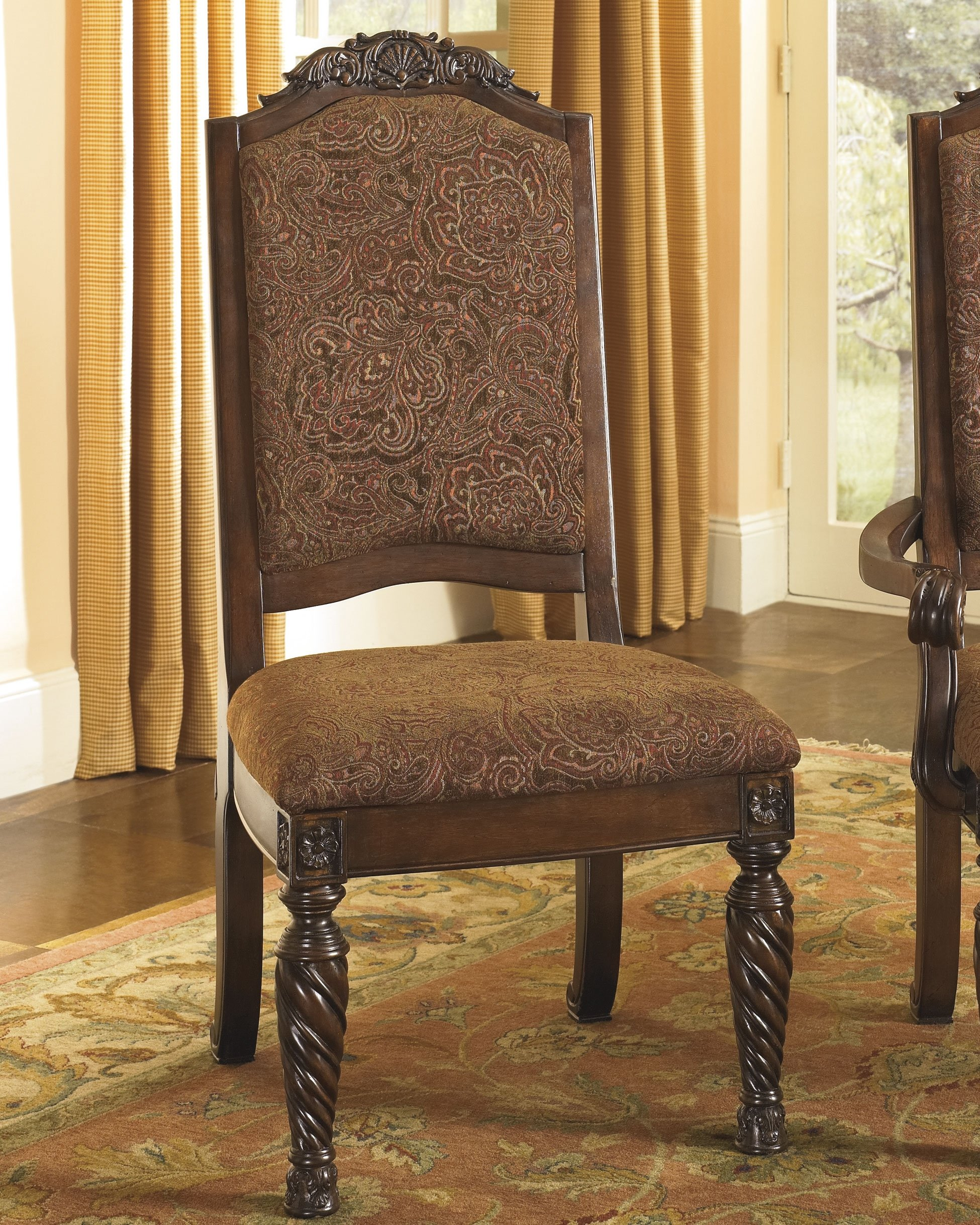 Set of 2 Dining Upholstered Side Chair by Ashley Furniture by Signature Design by Ashley (Image #3)