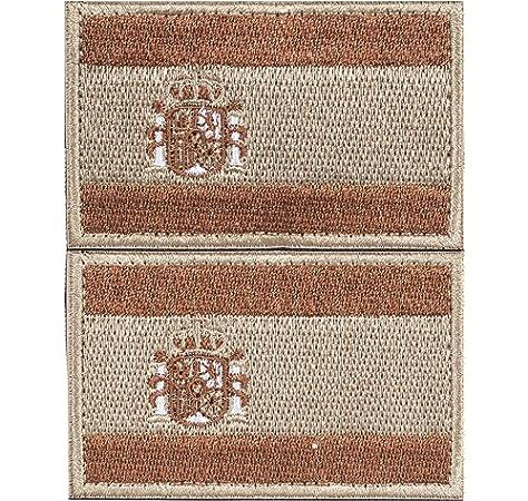 Kit 3 x Parches España Velcro x España Bandera Táctico bandera con velcro podría ser pegado a la ropa, chaleco, gorra, mochila Directamente: Amazon.es: Hogar