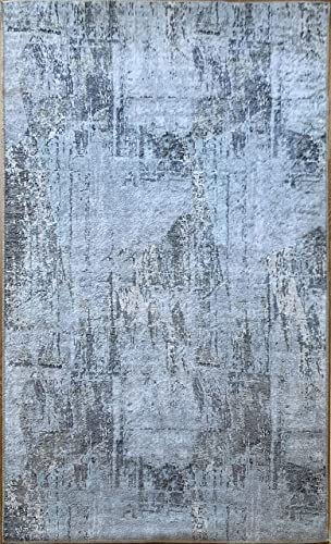 Benissimo Abstract Area Rug Modern Collection Printed Design
