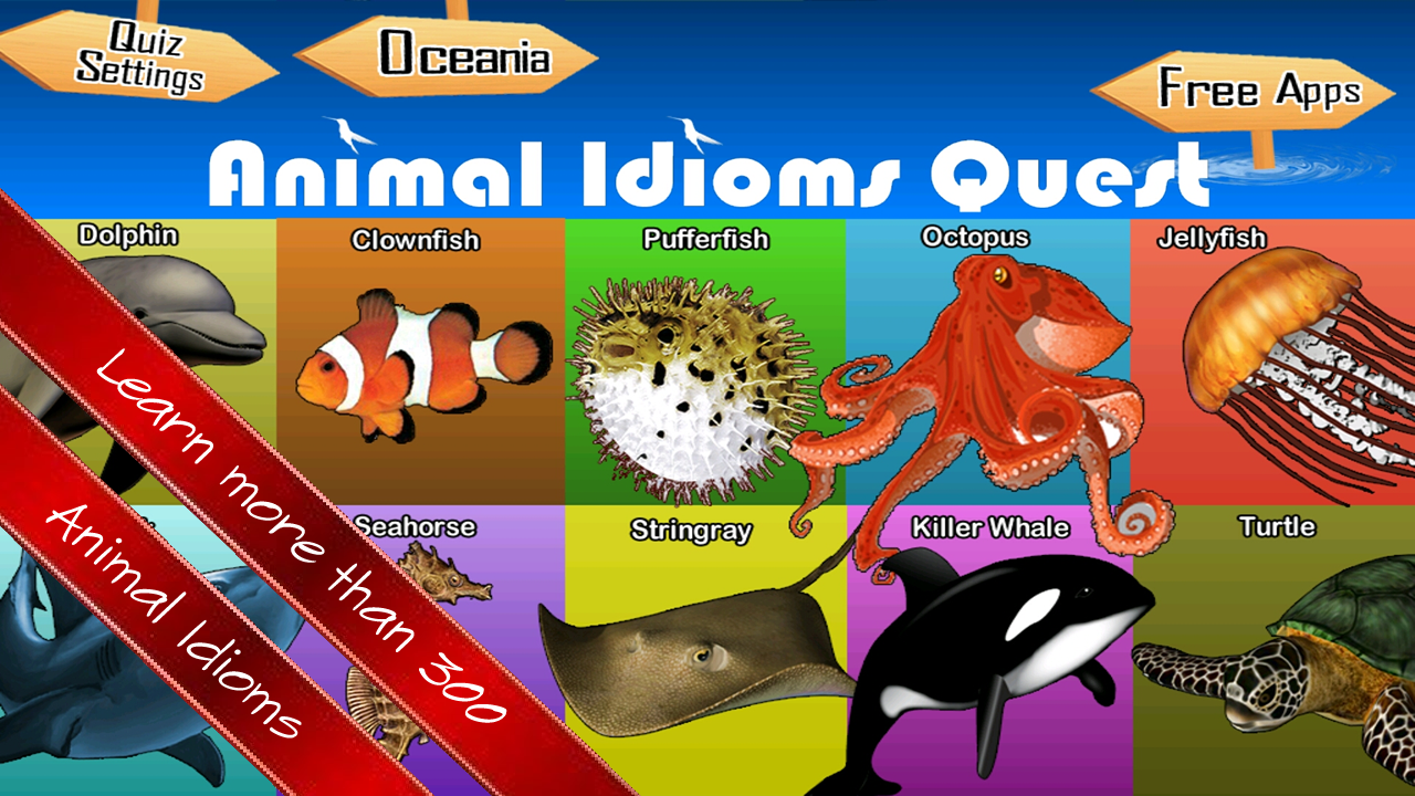 Amazon Animal Idioms Quiz Quest Appstore For Android