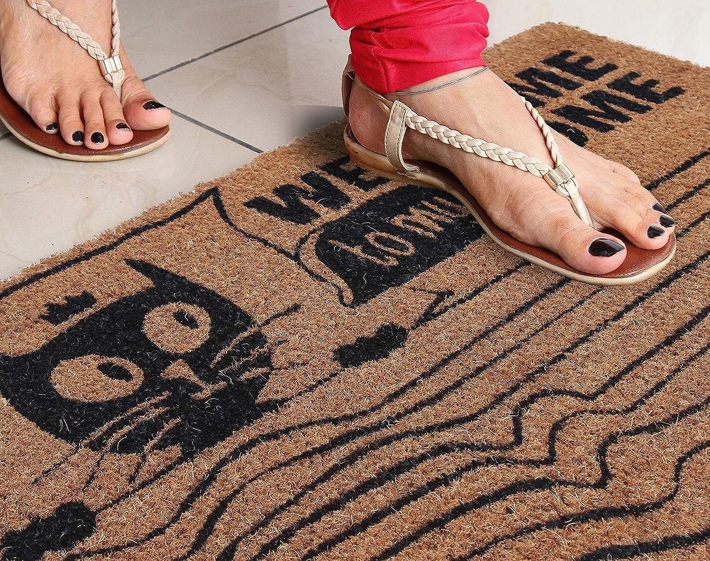 45 cm x 75 cm Marron Paillasson Coco /& Coco