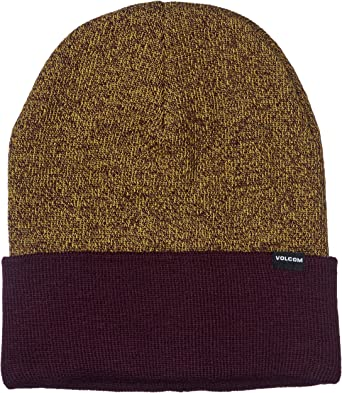 Volcom Mens Heathers Roll Over Fit Beanie