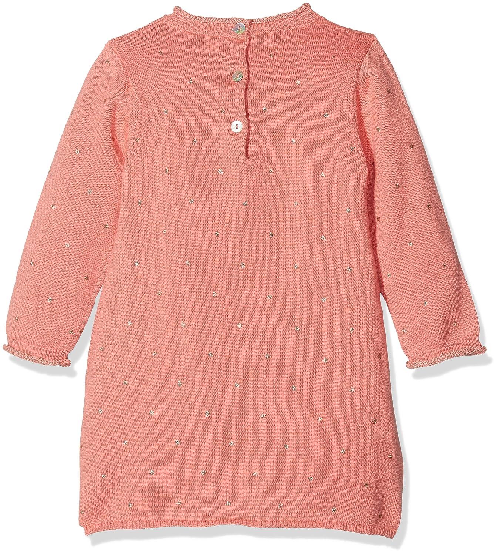 Noukies Robe Boudoir EN Tricot Smart, Vestido para Bebés, Rojo Corail, 9 Meses: Amazon.es: Ropa y accesorios