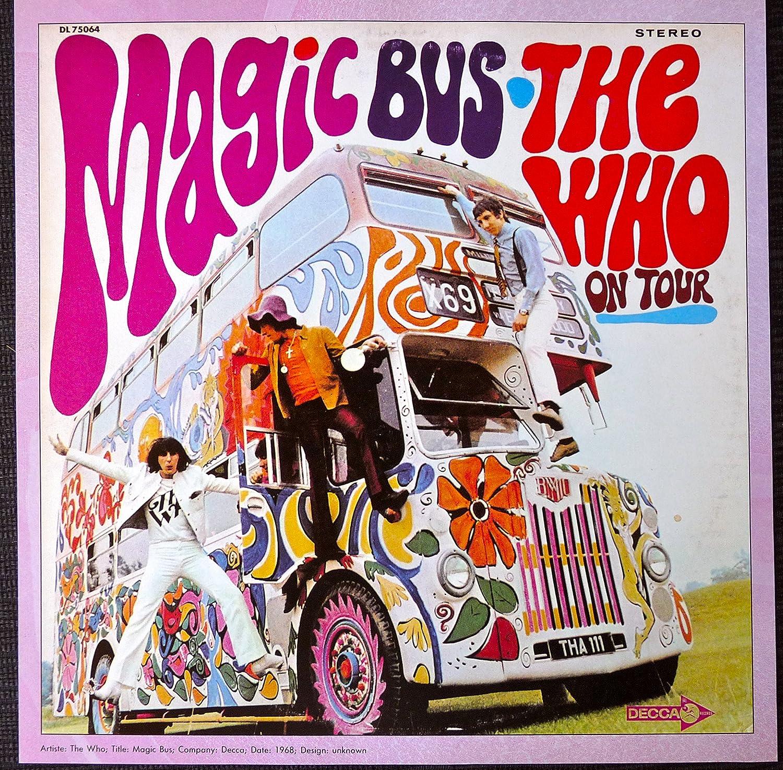 Amazon.com: The Who - Magic Bus: On Tour - Vintage Album Cover ...