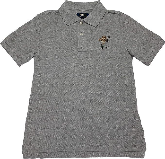 New Polo Ralph Lauren Boy/'s Shirt Short Sleeve Collared Mesh All Sizes