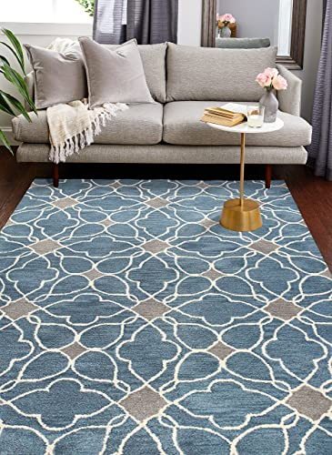 Bashian Chelsea collection ST261 hand tufted 100 wool area rug