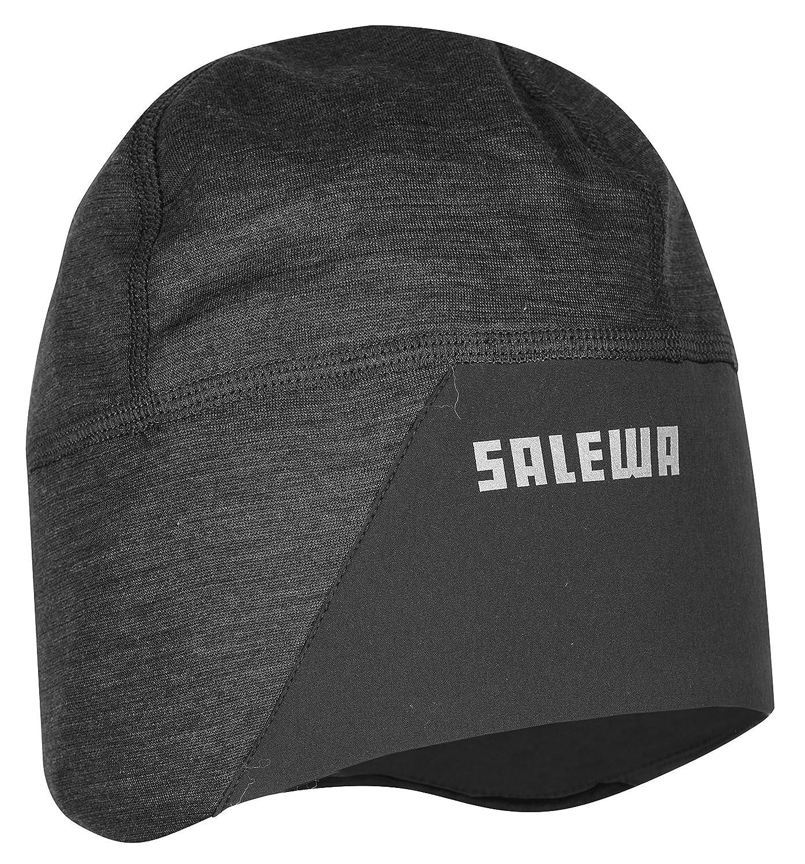 Salewa, Windblock WO Beanie, Berretto, Unisex adulto, Nero, S/56 Oberalp 00-0000024334