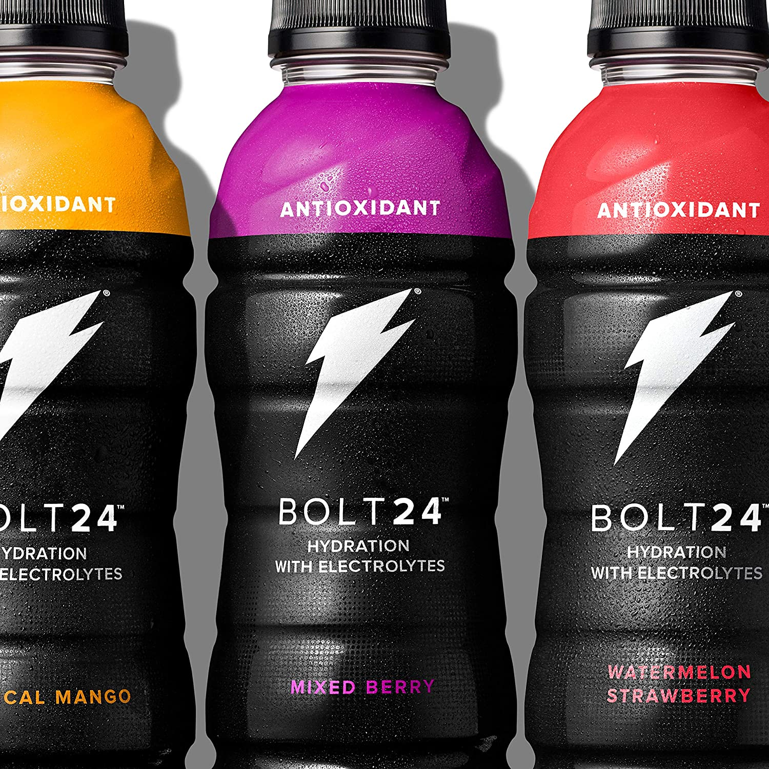 Gatorade BOLT24, Hydration with Antioxidants and Electrolytes, 3 Flavor  Variety Pack, 16 9oz