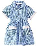 Blue Max Banner Girl's Ayr Short Sleeve Gingham School Dress