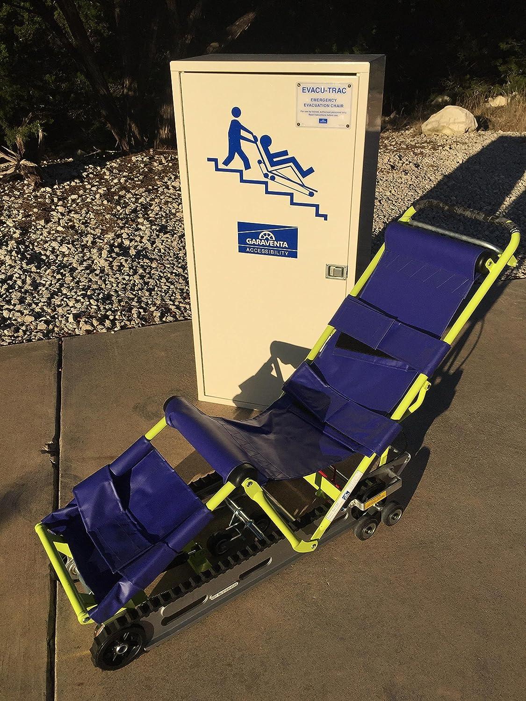 Garaventa Evacu-Trac CD7 Evacuation Chair with Storage Cabinet Evacuation Chair