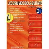 Ganter gammes de la guitare vol 1 + 1 CD