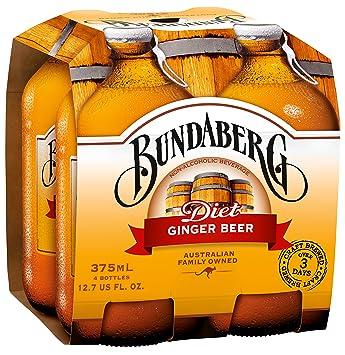 Bundaberg Diet Ginger Beer, 375 Ml (Pack of 24)