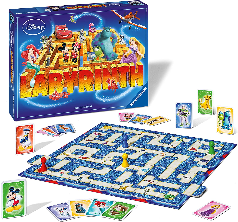 Ravensburger - El Laberinto Disney: Amazon.es: Juguetes y juegos